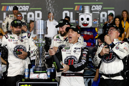 NASCAR Cup: Kevin Harvick gets All-Star win