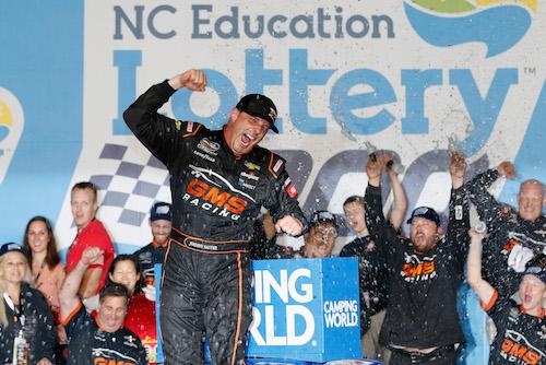 NASCAR Truck: Johnny Sauter notches win at Charlotte