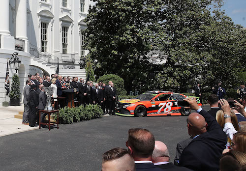 NASCAR Cup: Mr. Truex goes to Washington