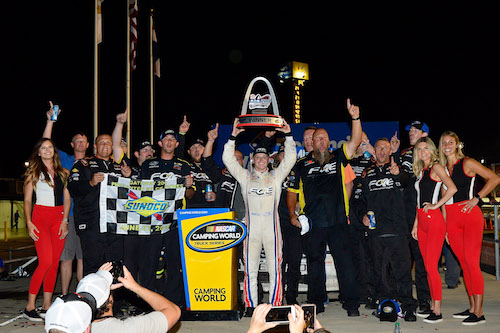 NASCAR Truck: Justin Haley scores first win at Gateway