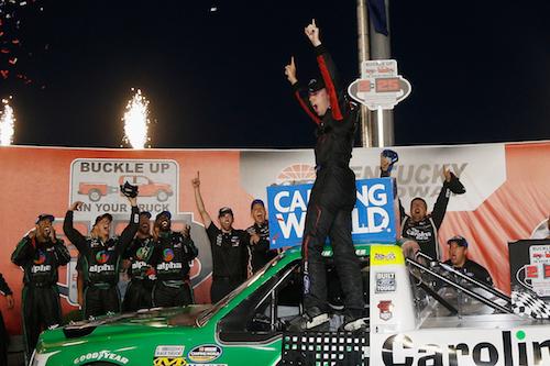 NASCAR Truck: Ben Rhodes wins in Kentucky