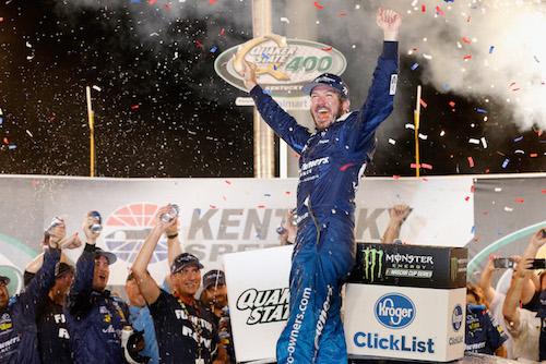 NASCAR Cup: Martin Truex Jr. dominates, wins at Kentucky