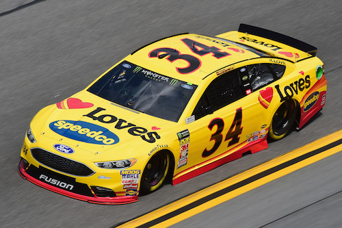 NASCAR Cup: Michael McDowell in back in backup at New Hampshire Motor Speedway
