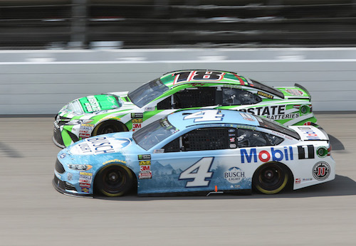 Nascar Cup Kevin Harvick Gets Seventh Win Of 2018 Auto Racing Daily