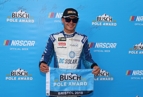 NASCAR Cup: Chevrolet sweeps front row in Bristol qualifying