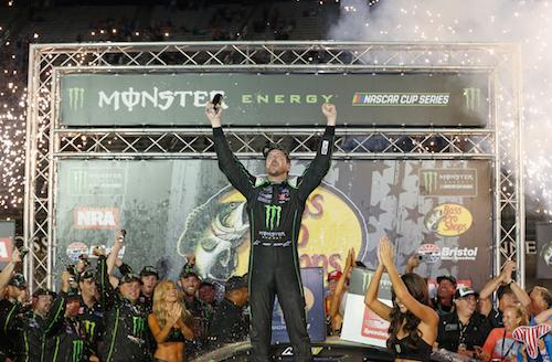 NASCAR Cup: Kurt Busch returns to victory lane at Bristol
