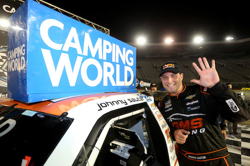 NASCAR Truck: Johnny Sauter wins at Bristol, claims regular season title