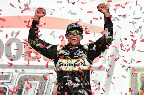 NASCAR Cup: Aric Almirola wins after Stewart-Haas dominates Talladega
