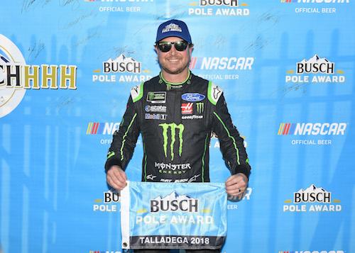 NASCAR Cup: Kurt Busch leads Stewart-Haas Racing dominance of Talladega qualifying