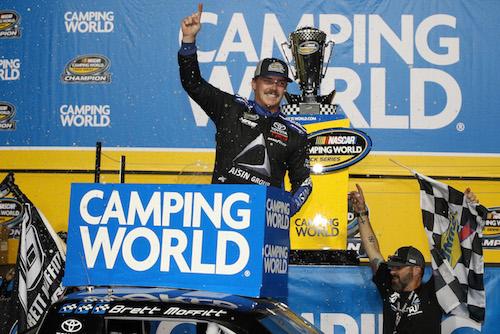 NASCAR Truck: Brett Moffitt wins race, championship at Homestead