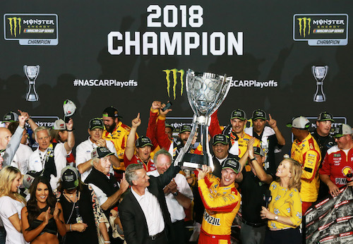 NASCAR Cup: Joey Logano wins at Homestead for 2018 title