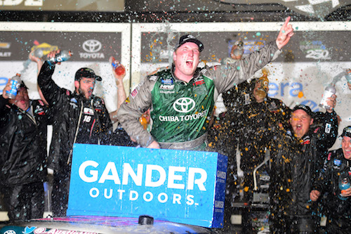 NASCAR Truck: Austin Hill wins attrition-filled season opener