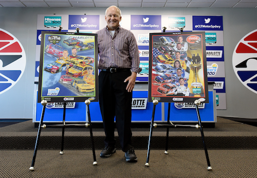 NASCAR artist Sam Bass passes away