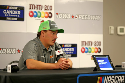NASCAR Truck: Brett Moffit declared Iowa winner after Chatain's truck fails inspection