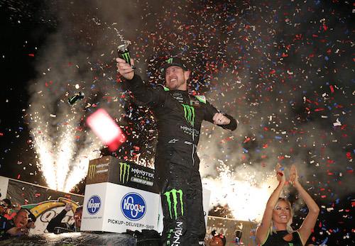 NASCAR Cup: Kurt Busch wins brotherly battle for Kentucky win