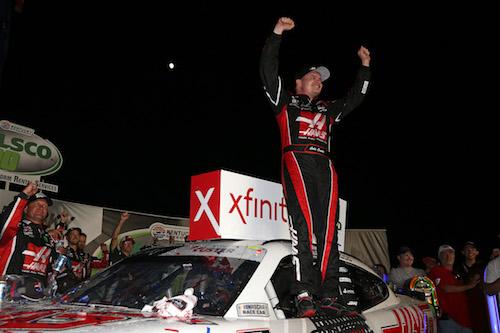 NASCAR Xfinity: Cole Custer wins at Kentucky