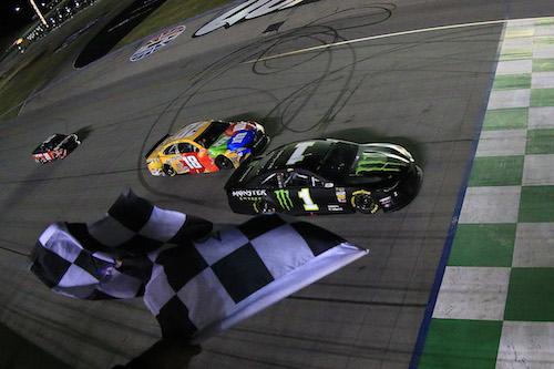 NASCAR Cup: Kyle Busch leaves Kurt Busch in Kentucky