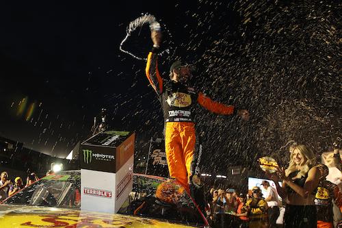 NASCAR Cup: Martin Truex Jr. kicks off playoffs with Vegas win