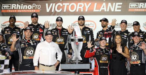 NASCAR Xfinity: Tyler Reddick wins at Las Vegas