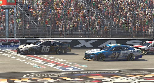 NASCAR Cup: Timmy Hill scores virtual Texas win