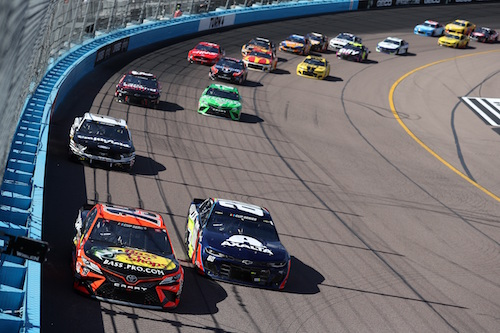 NASCAR getting heaving into sports gambling