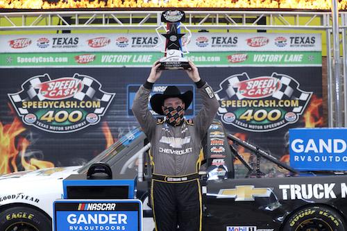 NASCAR Truck: Sheldon Creed dominates Texas race