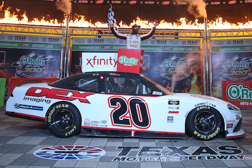 NASCAR Xfinity: Harrison Burton wins with last-lap pass at Texas