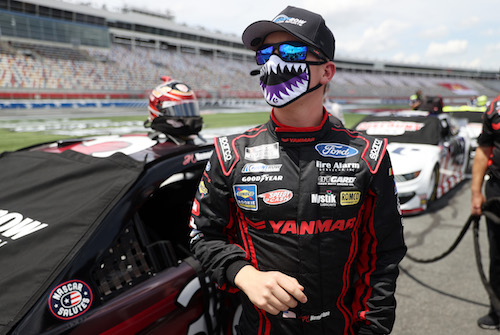 NASCAR Cup: John Hunter Nemechek leaves Front Row