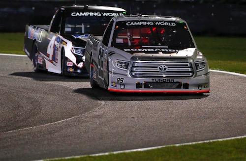 NASCAR Truck: Ben Rhodes remains undefeated in 2021