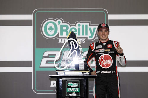 NASCAR Cup: Christopher Bell wins on Daytona road course