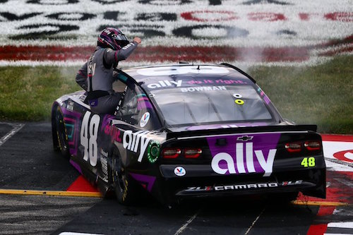 NASCAR Cup: Alex Bowman steals win at Richmond