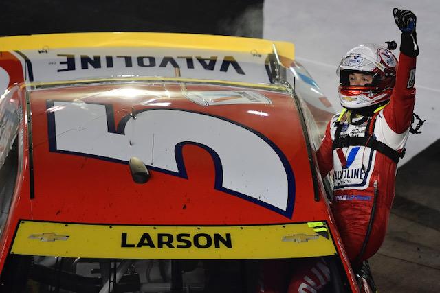 NASCAR Cup: Kyle Larson wins at Bristol
