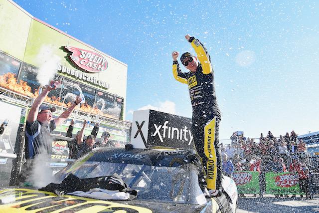 NASCAR Xfinity: Nemechek dominates Texas